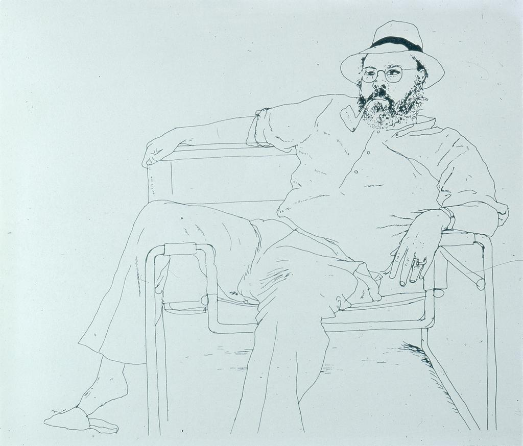 David Hockney Life Drawing About Hockney's Figurative
